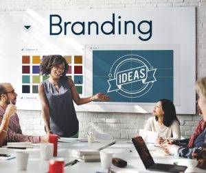 Branding Ideas Design Identitiy Marketing Concept